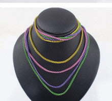 Colorful Multi-Strand Necklace - Fierce Finds Mobile Boutique  - 2