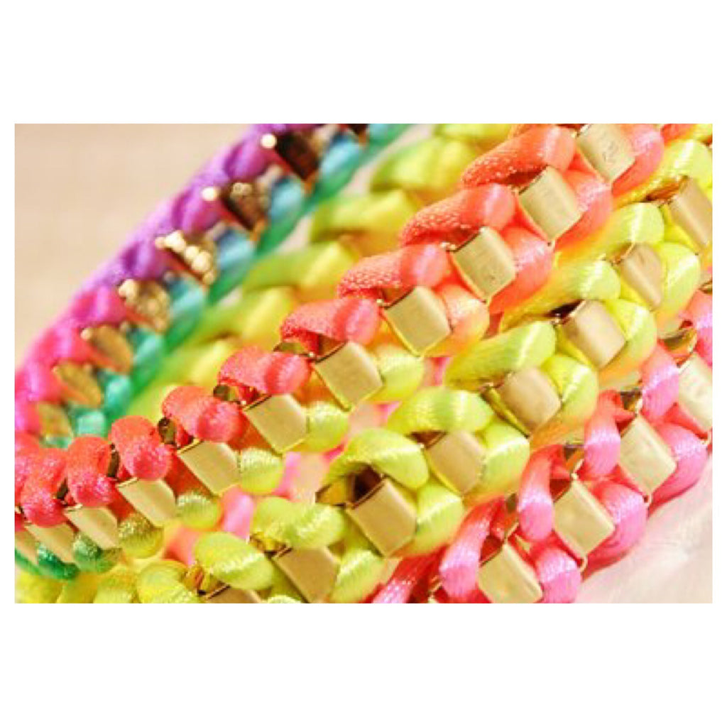Neon Wrap Bracelet - Fierce Finds Mobile Boutique  - 3