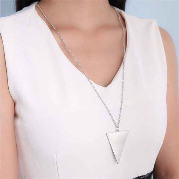 Triangle Long Chain - Fierce Finds Mobile Boutique  - 5