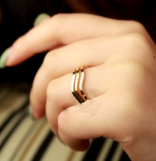 Multi Metal Stack Ring - Fierce Finds Mobile Boutique  - 3