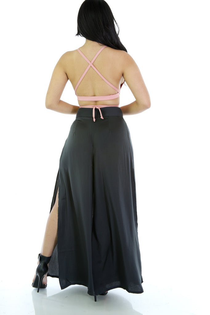 Strappy Crop Top - Fierce Finds Mobile Boutique  - 3