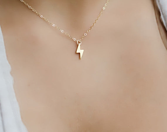 Lightening Necklace - Fierce Finds Mobile Boutique  - 3
