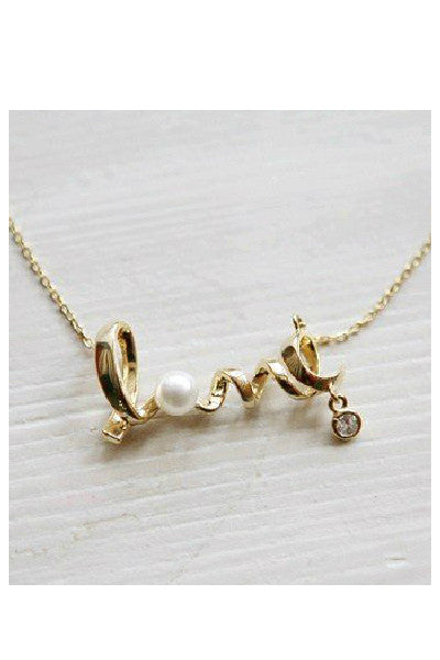 Dainty Love Necklace - Fierce Finds Mobile Boutique  - 3