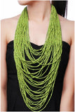 Colorful Multi-Strand Necklace - Fierce Finds Mobile Boutique  - 4