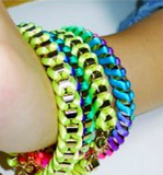 Neon Wrap Bracelet - Fierce Finds Mobile Boutique  - 4