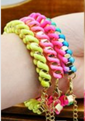 Neon Wrap Bracelet - Fierce Finds Mobile Boutique  - 5