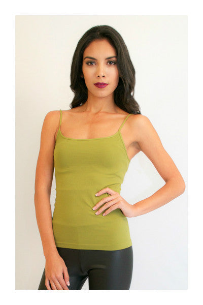 Green Cami Top - Fierce Finds Mobile Boutique  - 2