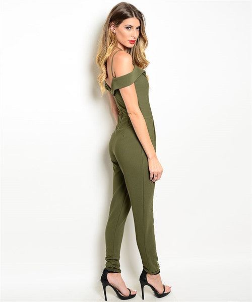 Olive Jumpsuit - Fierce Finds Mobile Boutique  - 4