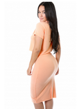 Georgia Peach Skirt Set - Fierce Finds Mobile Boutique  - 2