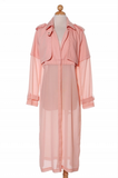 Peak-a-Boo Trench - Fierce Finds Mobile Boutique  - 6