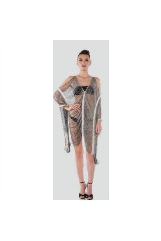 Handmade Fringe Poncho Dress - Fierce Finds Mobile Boutique  - 1