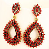 Beaded Drop Earring - Fierce Finds Mobile Boutique  - 2