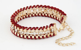 Hand Woven Rope Gold Bracelet - Fierce Finds Mobile Boutique  - 2