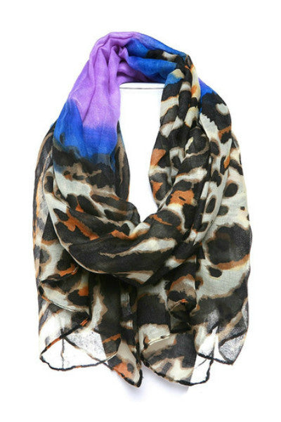 Leopard Printed Scarf - Fierce Finds Mobile Boutique  - 5