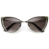Cat Eye Tinted Sunglasses - Fierce Finds Mobile Boutique  - 10