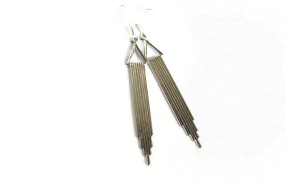 Handcrafted City Earrings - Fierce Finds Mobile Boutique  - 1