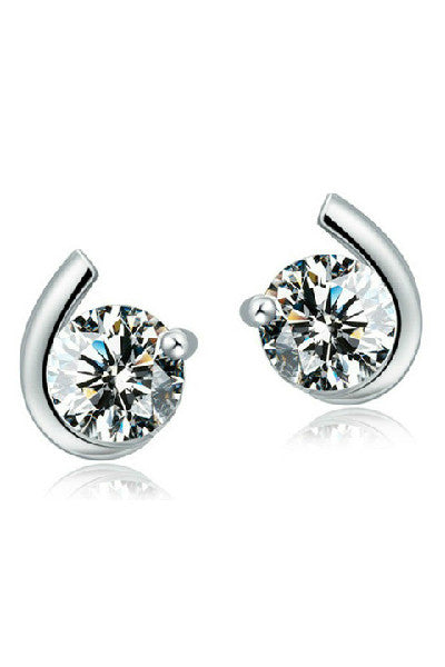 Simply Elegant Studs Sterling Silver - Fierce Finds Mobile Boutique  - 4