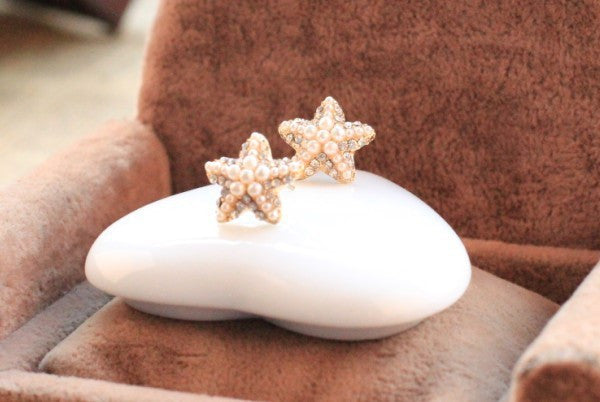 Starfish Earrings - Fierce Finds Mobile Boutique  - 3