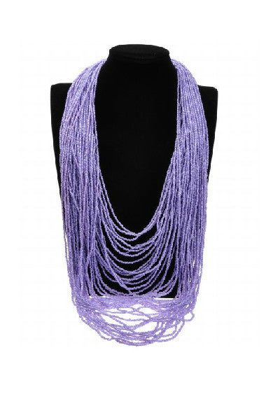 Colorful Multi-Strand Necklace - Fierce Finds Mobile Boutique  - 3