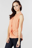 Drape Wrap Top - Fierce Finds Mobile Boutique  - 3
