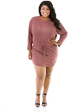 Comfy Cute Dress Plus - Fierce Finds Mobile Boutique  - 3