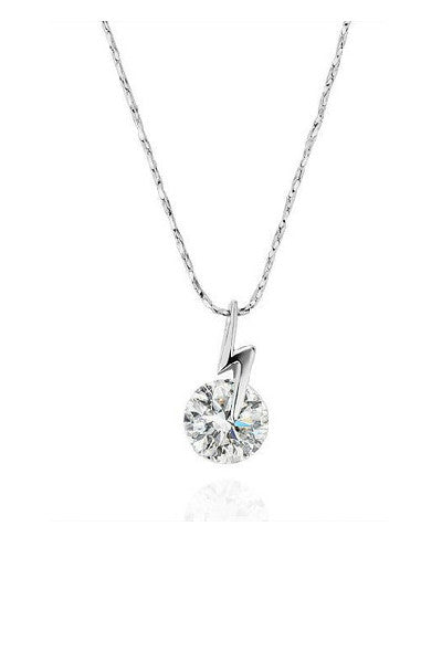 Crystal Lightening Dainty Necklace - Fierce Finds Mobile Boutique  - 3