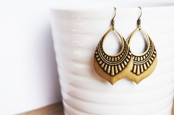 Handcrafted Tribal Earrings - Fierce Finds Mobile Boutique  - 2