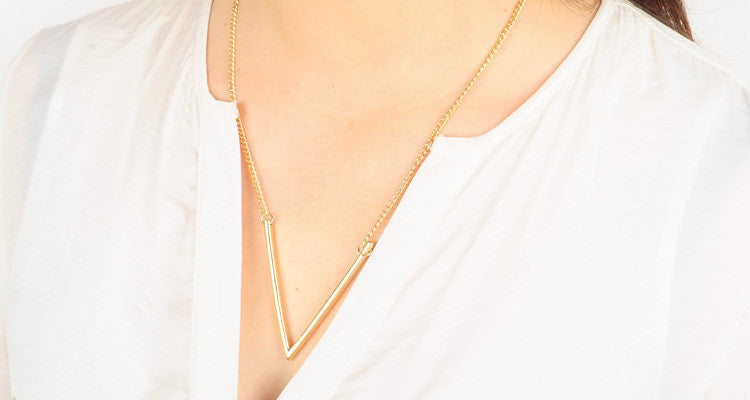 V Necklace - Fierce Finds Mobile Boutique  - 4