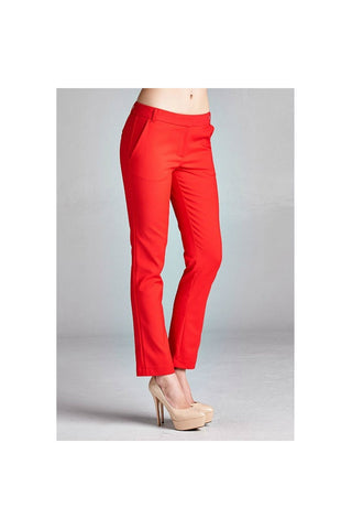 Chic Ankle Pants-Women - Apparel - Pants - Trousers-Fierce Finds Mobile Boutique