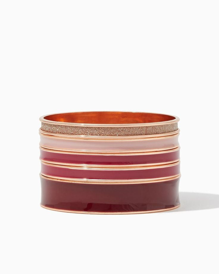 Wine & Blush Bangles - Fierce Finds Mobile Boutique  - 2