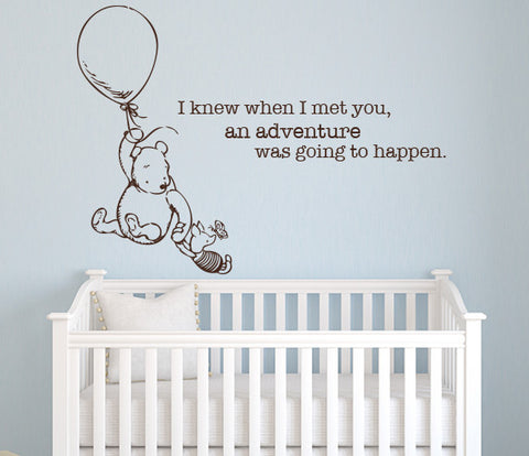 Winnie The Pooh Wall Decal Part 37