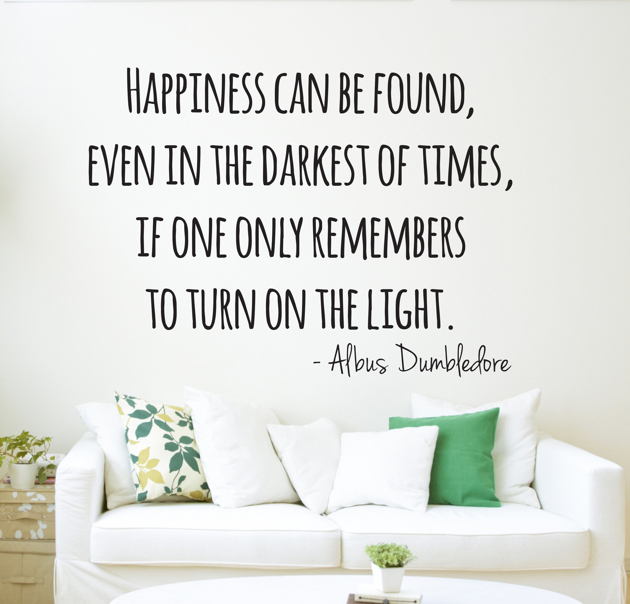 harry potter wall decal quote art home decor vinyl lovely decals