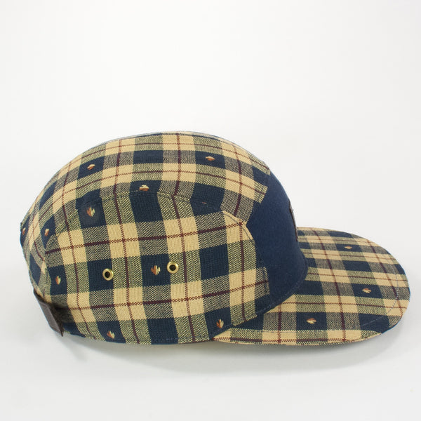 Oldhat #3075, 5-Panel hat, handmade with recycled material