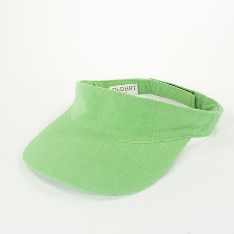 Oldhat #5559, Visor hat, handmade with recycled material