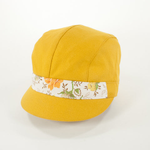 Oldhat #5489, Schoolyard hat, handmade with recycled material