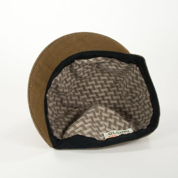 Oldhat #3877, Schoolyard hat, handmade with recycled material