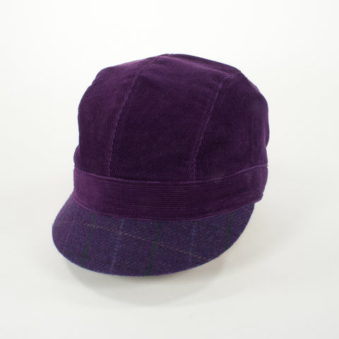 Oldhat #4357, Schoolyard hat, handmade with recycled material