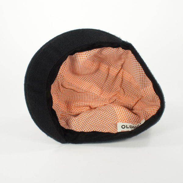 Oldhat #4109, Schoolyard hat, handmade with recycled material