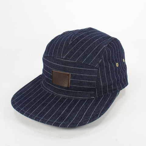Oldhat #6241, 5-panel hat, handmade with recycled material