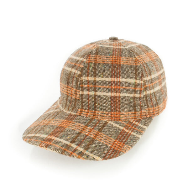 Brown/Orange Plaid