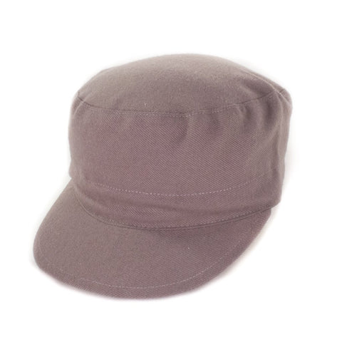 Oldhat #7407, Cadet hat, handmade with recycled material