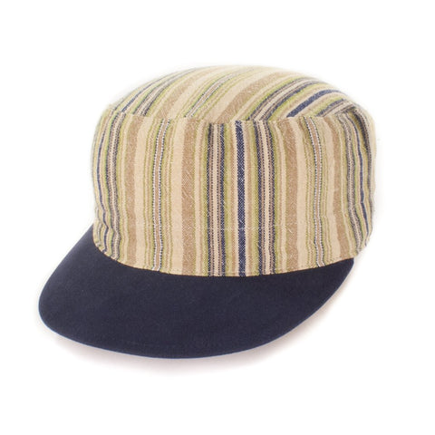 Oldhat #6122, Cadet hat, handmade with recycled material