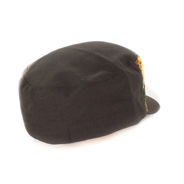 Oldhat #9340, Cadet hat, handmade with recycled material