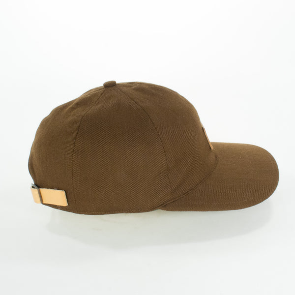 Brown Baseball Cap