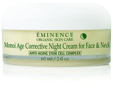 Load image into Gallery viewer, Monoi Age Corrective Night Cream for Face & Neck