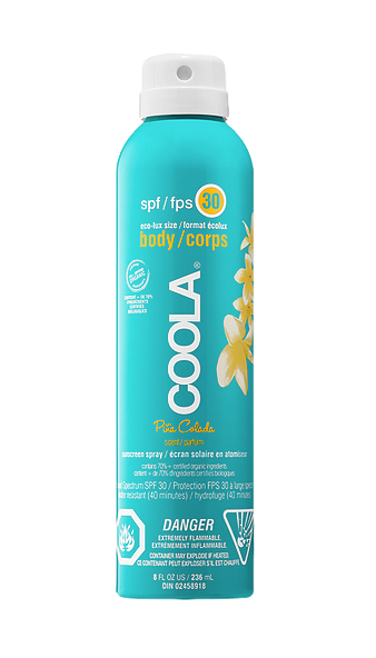 BODY SPF 30 PINA COLADA SUNSCREEN SPRAY