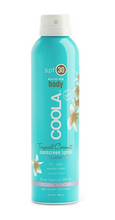 Load image into Gallery viewer, BODY SPF 30 TROPICAL COCONUT SUNSCREEN SPRAY