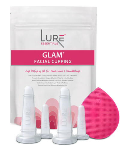 Glam Silicone Face & Eye Cupping Kit