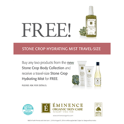 Free Travel-Size Stone Crop Hydrating Mist