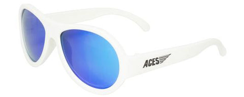 Aces Aviator - Wicked White / Blue